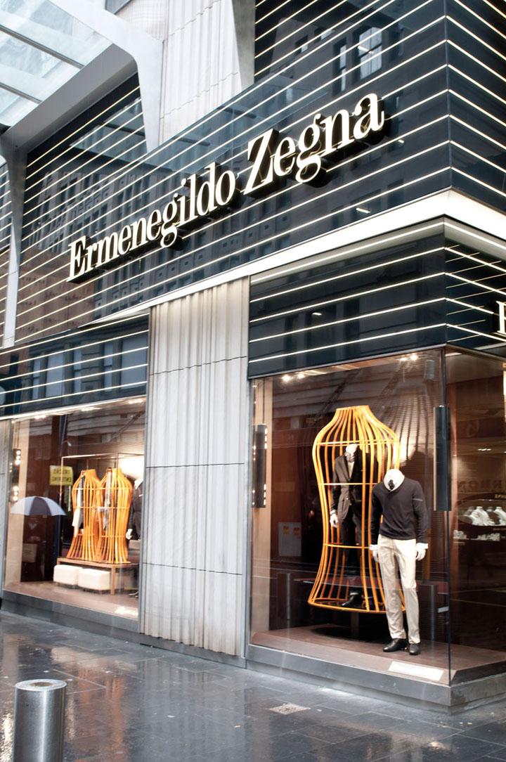 Ermenegildo zegna flagship store by peter marino sydney for Americana hotel nyc