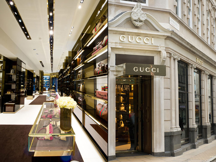 Gucci Flagship Store London 187 Retail Design Blog