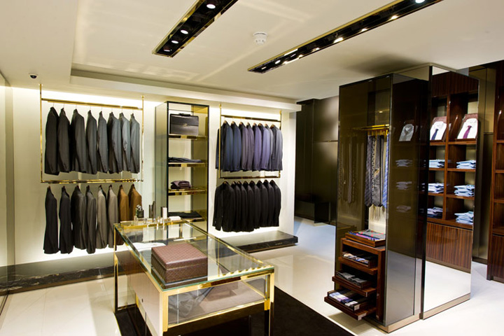 Gucci flagship store london retail design blog Interior design stores london