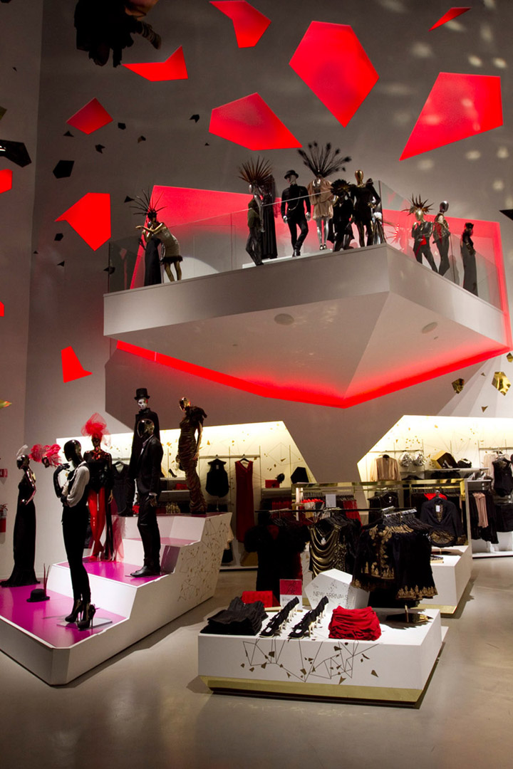 Fashionwindows 2010 12 World Largest Hm Store Opens In Las Vegas