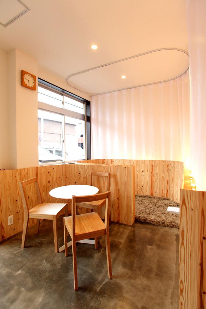 Hair very salon by maker hiroshima retail design blog for Salon blueprint maker
