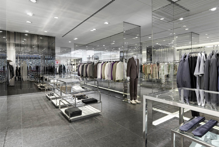 Joop store by burdifilek hamburg retail design blog for Design outlet hamburg