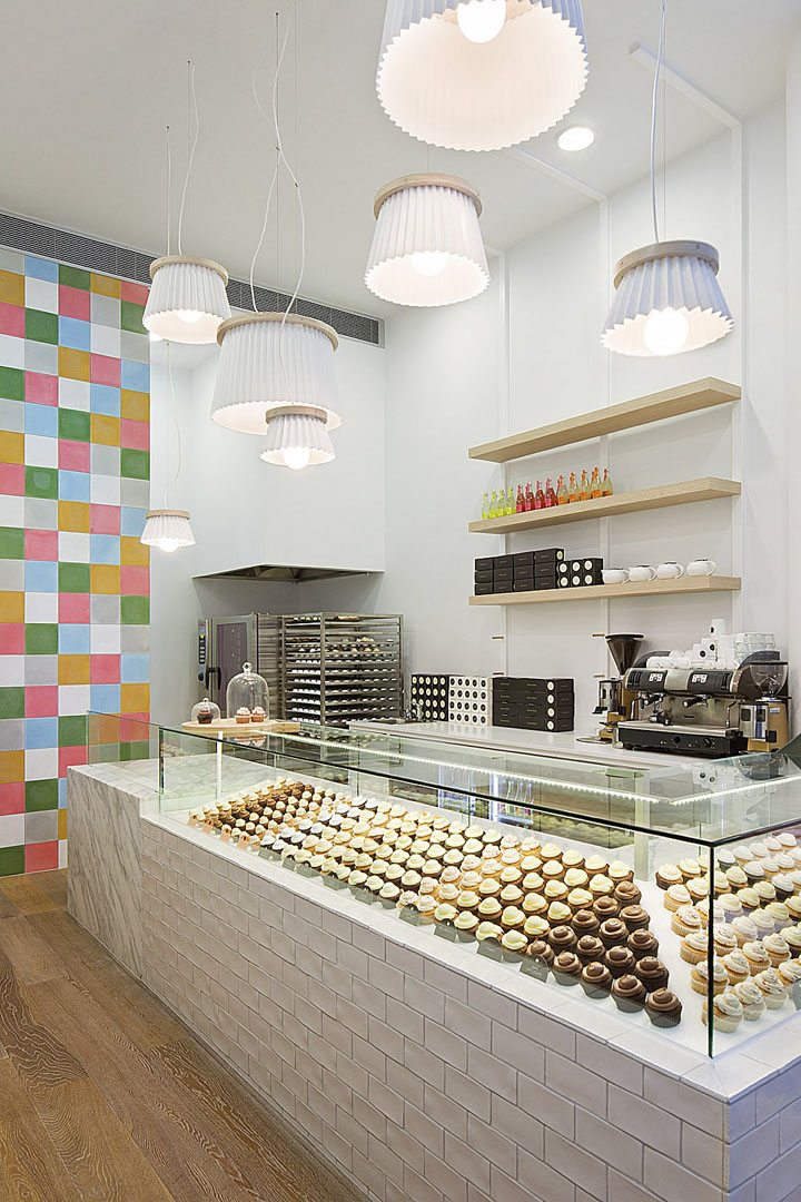 Joy Cupcakes by Mim Design, Melbourne » Retail Design Blog