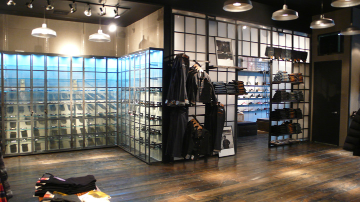 Kith shoe store by Cleanroom Brooklyn 04 Kith shoe store by Cleanroom, Brooklyn