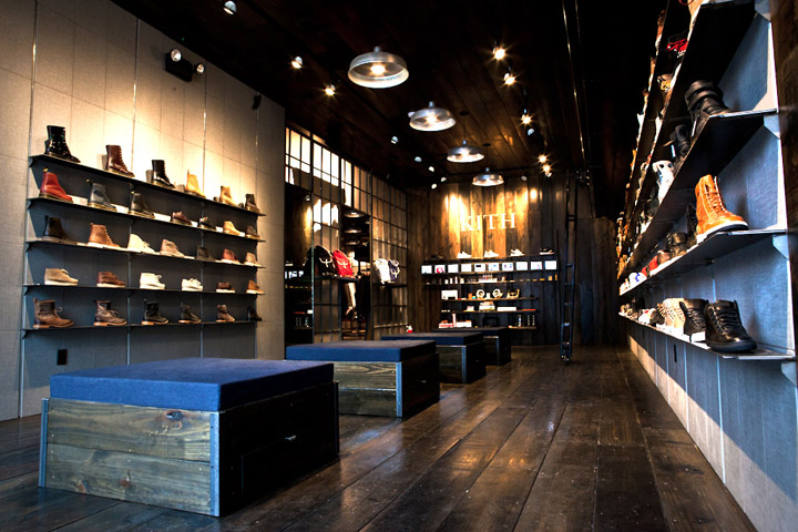 Kith shoe store by Cleanroom Brooklyn 06 Kith shoe store by Cleanroom, Brooklyn