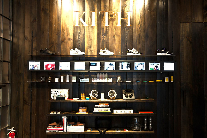 Kith shoe store by Cleanroom Brooklyn 07 Kith shoe store by Cleanroom, Brooklyn