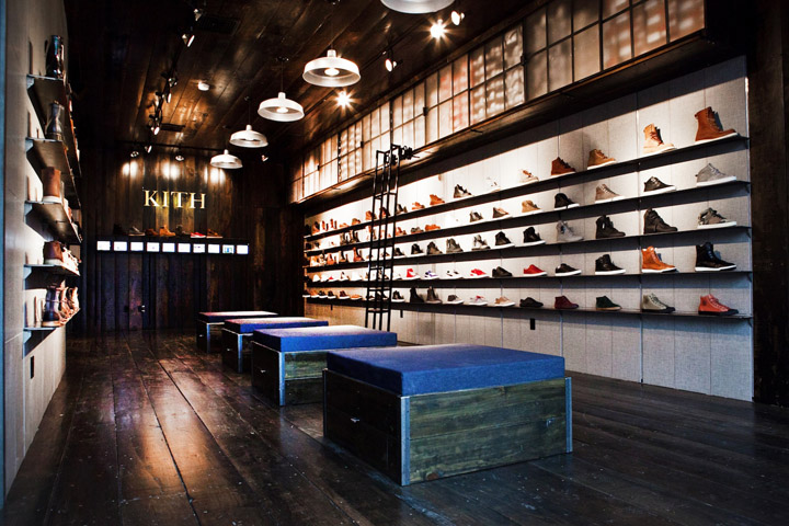 Kith shoe store by Cleanroom Brooklyn Kith shoe store by Cleanroom, Brooklyn