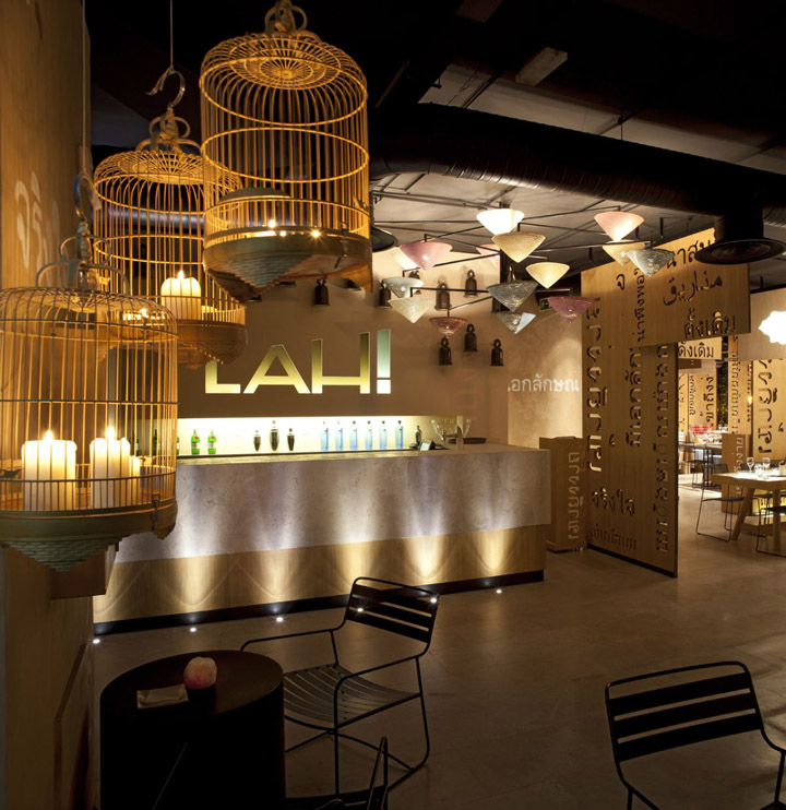 Lah restaurant by IlmioDesign Madrid 03 Lah! restaurant by IlmioDesign, Madrid