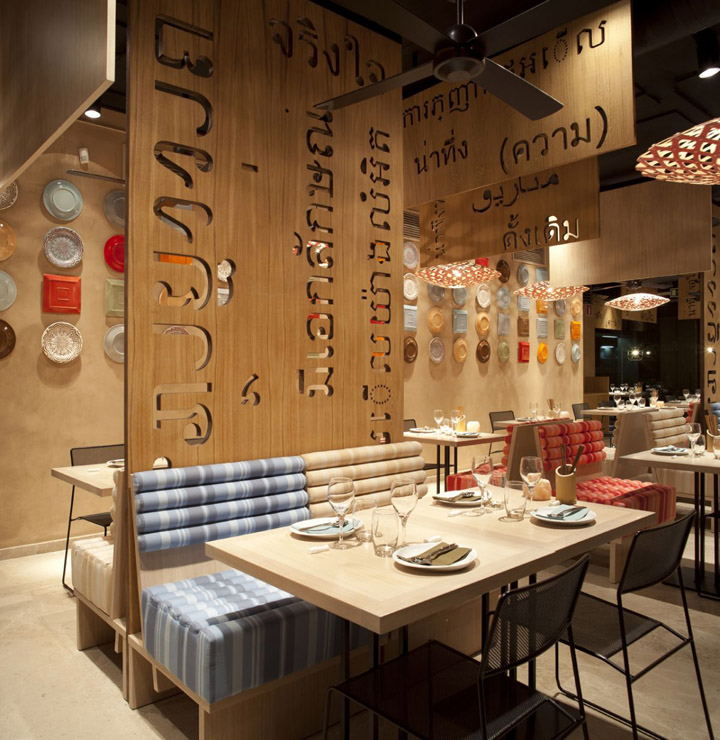 Lah restaurant by IlmioDesign Madrid 13 Lah! restaurant by IlmioDesign, Madrid