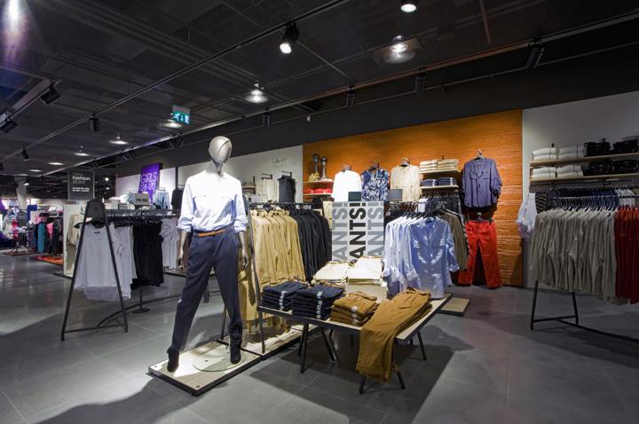 Lindex by Dalziel and Pow Uddevalla Sweden 03 Lindex store by Dalziel and Pow, Uddevalla   Sweden