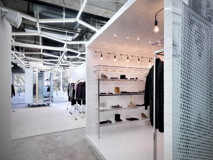 Maison martin margiela store beijing retail design blog for Maison martin margiela paris