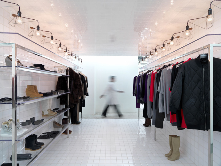 Maison martin margiela store beijing retail design blog for Boutique decoration maison