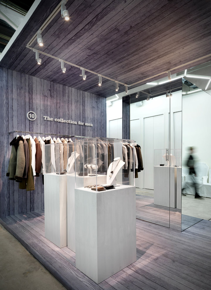 Maison martin margiela store beijing retail design blog for Maison design