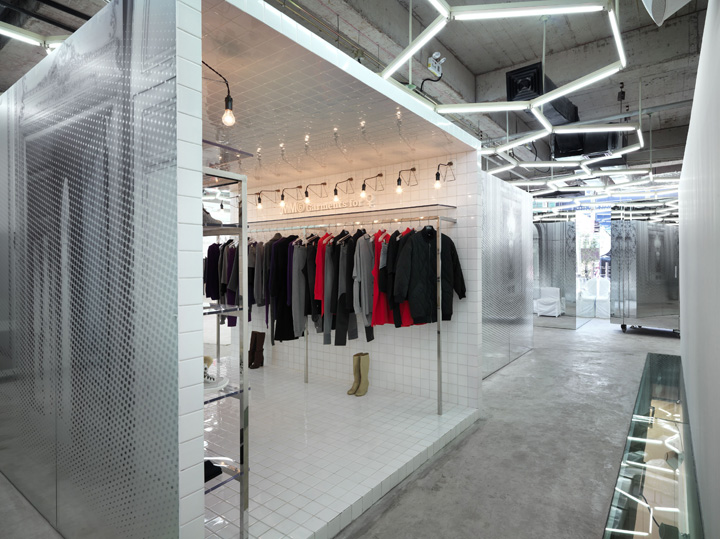 Fashion house retail design blog for Maison martin margiela paris
