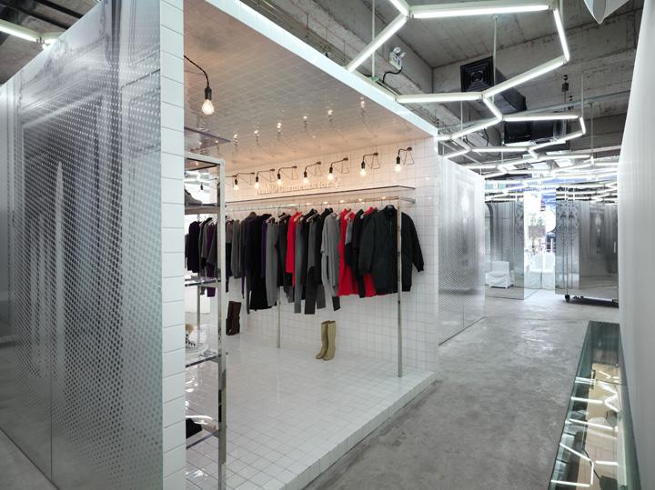 Fashion house retail design blog for Maison martin margiela paris