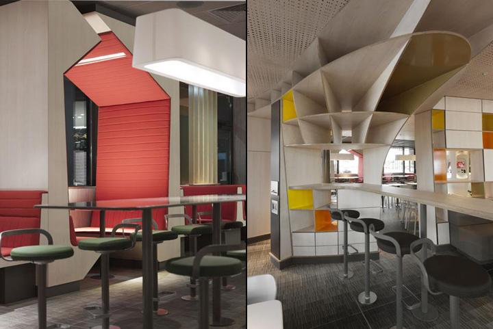 Mcdonald S Restaurant By Patrick Norguet Villefranche De Lauragais Retail Design Blog