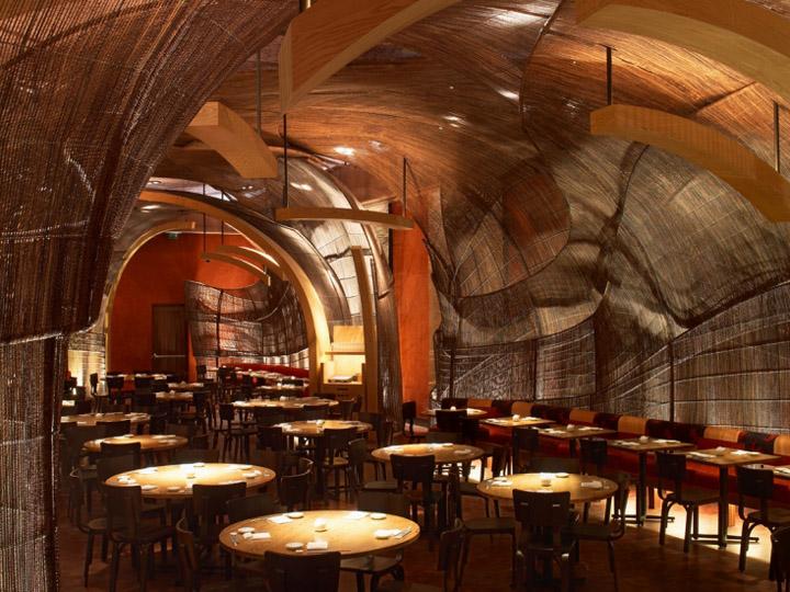 Nobu restaurant by rockwell group dubai