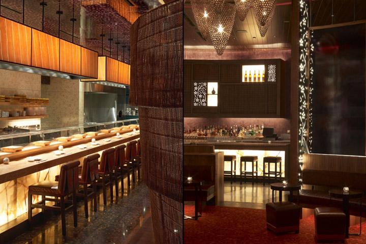 nobu restaurant  rockwell group dubai