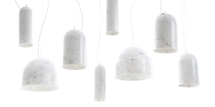 Quarry lamps by Benjamin Hubert for De La Espada 02 Quarry lamps by Benjamin Hubert for De La Espada