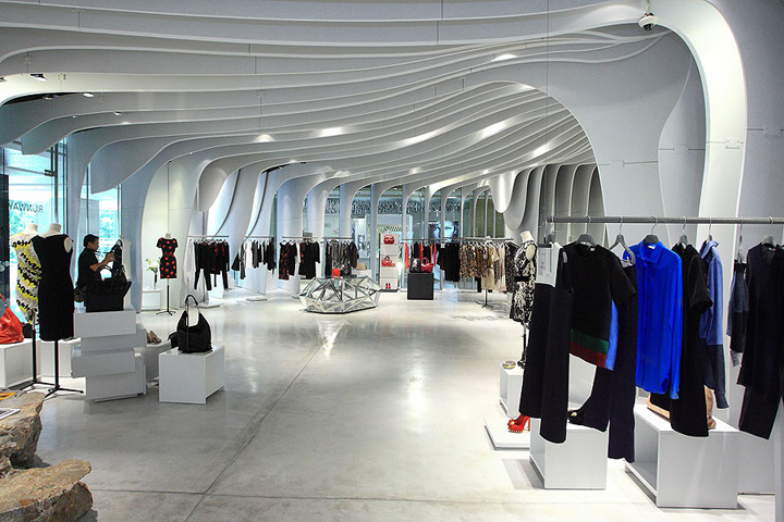 Runway Store By Cls Architetti Ho Chi Minh City Vietnam