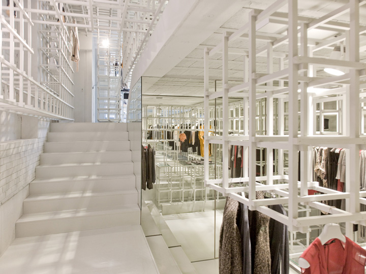 Stills flagship store by doepel strijkers architects Interior design shops amsterdam