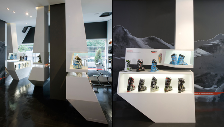 Surefoot Store By The Ladg New York 187 Retail Design Blog