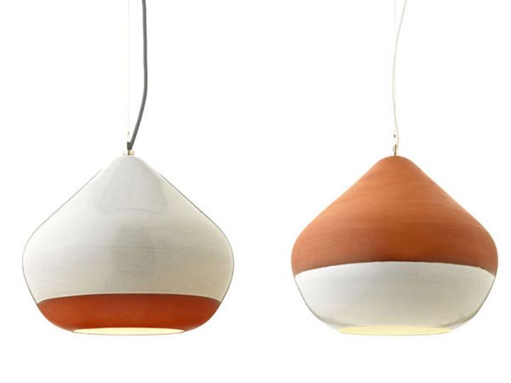 Terracotta pendant lamps by tom housden retail design blog terracotta pendant lamps by tom housden aloadofball Choice Image