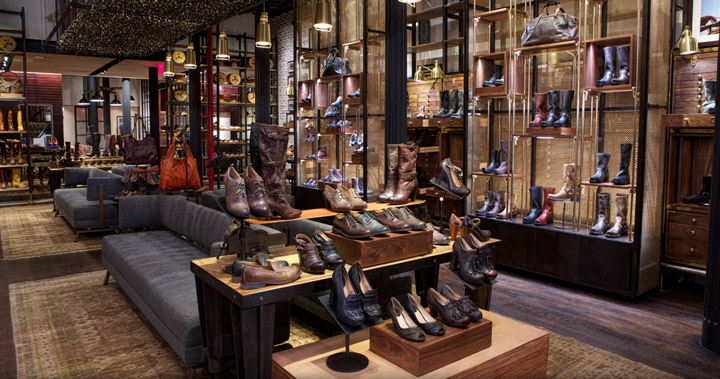 Frye Shoes Nyc Store