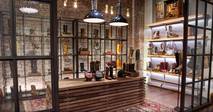 The Frye Company Flagship Store By Avroko New York