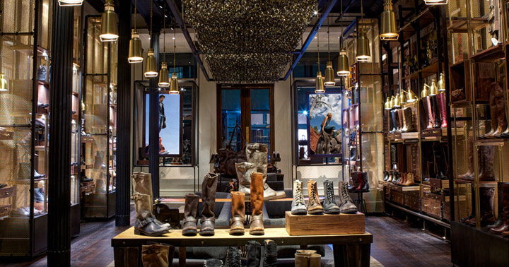 187 The Frye Company Flagship Store By Avroko New York