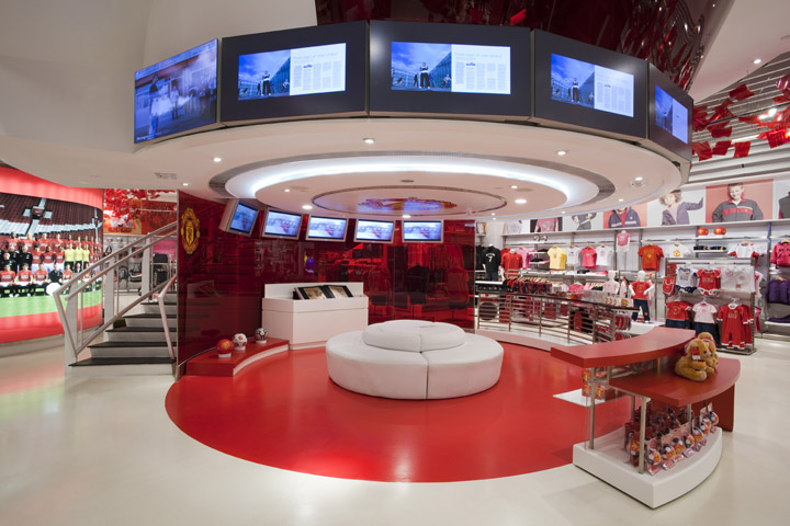The Manchester United Experience Retail by HEAD The Manchester United Experience Retail by HEAD Architecture, Macau