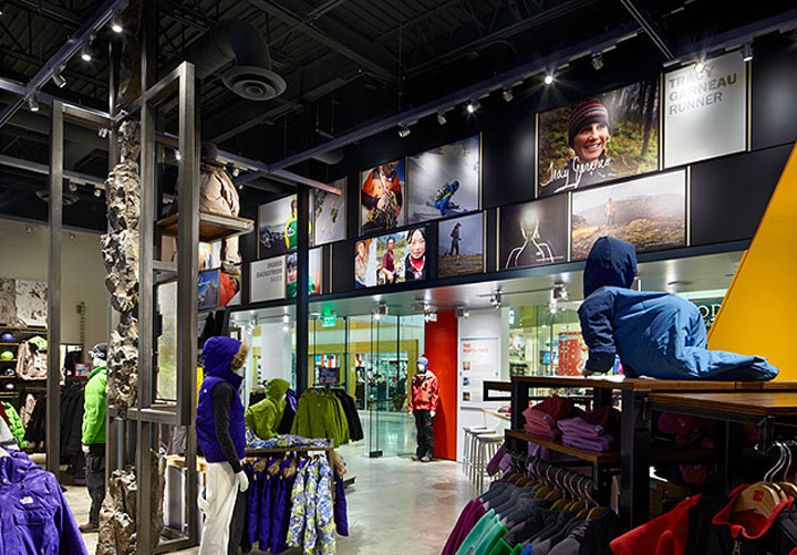 The North Face by Gensler Indianapolis 03 The North Face by Gensler, Indianapolis