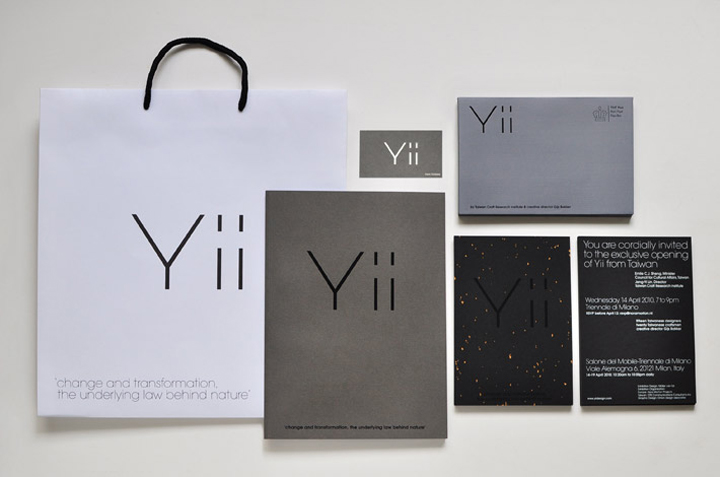 Yii exhibition identity by Onion design 999254d82