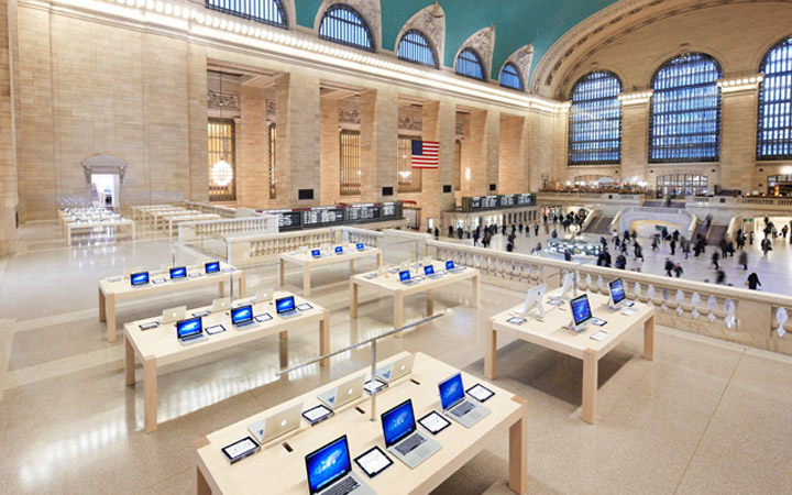 Apple Store Grand Central New York 187 Retail Design Blog