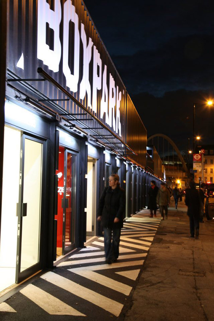 Shoreditch London: BOXPARK By Roger Wade, Shoreditch London » Retail Design Blog