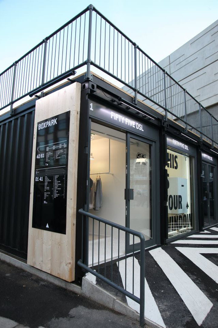 187 Boxpark By Roger Wade Shoreditch London
