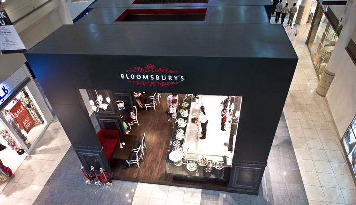 Bea's of Bloomsbury cupcake kiosk by carbon, Abu Dhabi » Retail