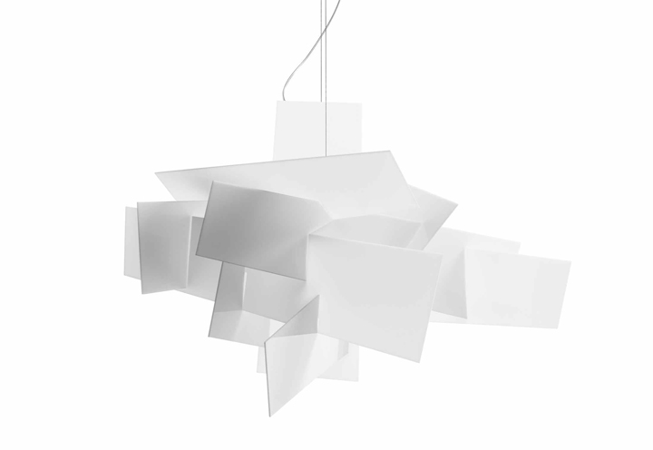 big bang suspension lamp by foscarini retail design blog. Black Bedroom Furniture Sets. Home Design Ideas