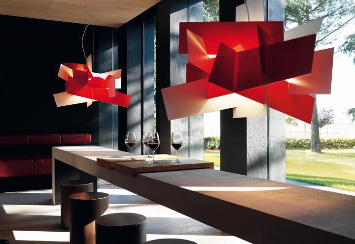 big bang suspension lamp by foscarini. Black Bedroom Furniture Sets. Home Design Ideas