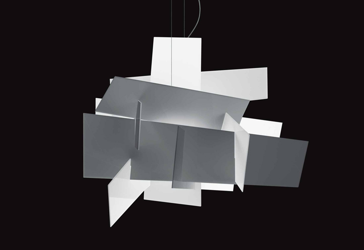 big bang suspension lamp by foscarini retail design blog. Black Bedroom Furniture Sets. Home Design Ideas