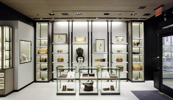 bottega veneta concept store new york retail design blog