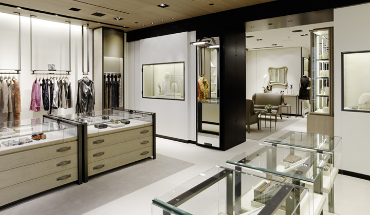 bottega veneta concept store new york retail design blog. Black Bedroom Furniture Sets. Home Design Ideas