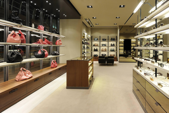 Bottega Veneta store, Marina Bay Sands – Singapore