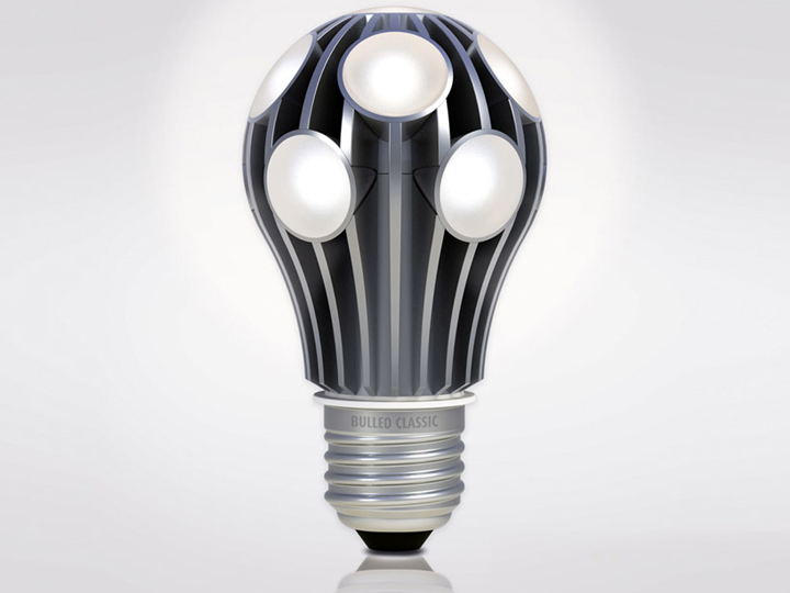 bulled led light bulbs by ledo
