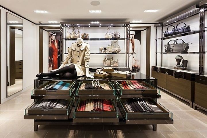 Burberry Store Stockholm 187 Retail Design Blog