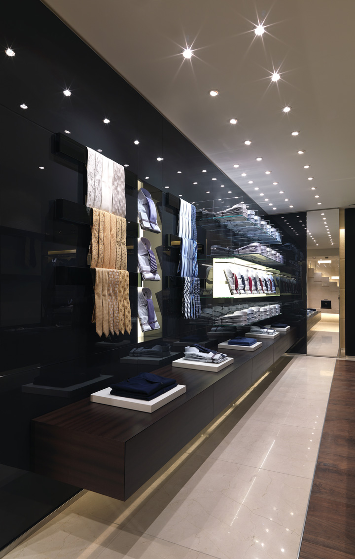 Canali building by grassicorrea london retail design blog for Retail interior design agency london