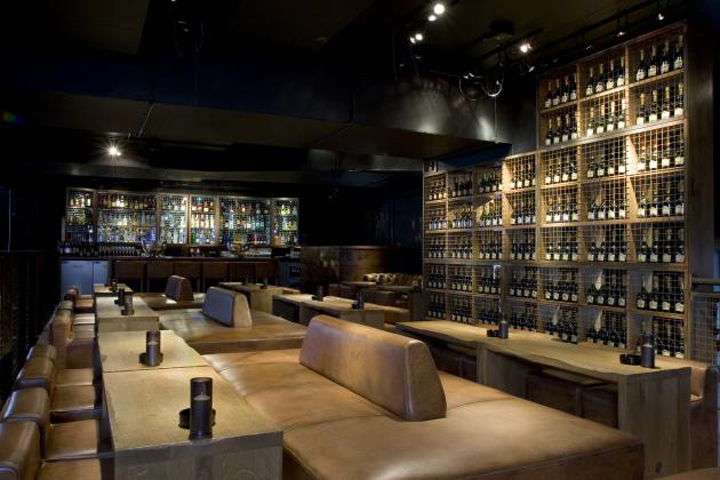 Carbon bar by b3 designers london retail design blog for Restaurant design london