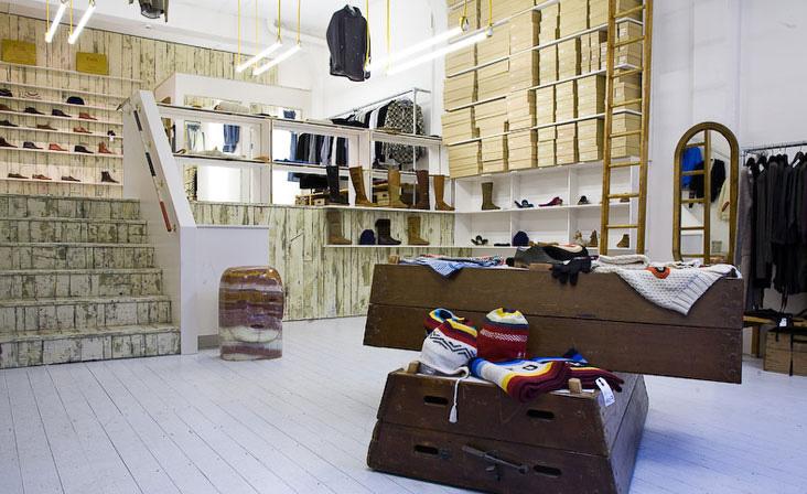 Folk clothing store by IY A Studio London 03