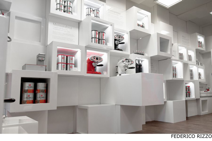 Illy temporary shop by Caterina Tiazzoldi Milan 02 Illy temporary shop by Caterina Tiazzoldi, Milan