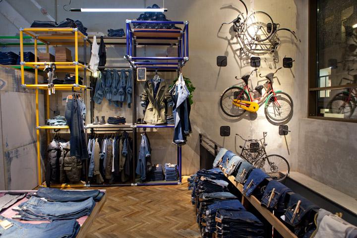 187 Levi S Store By Como Park Studio Amsterdam